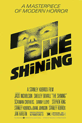 Films By Stanley Kubrick Photograph - The Shining, Poster Art, 1980 by Everett