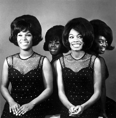 The Shirelles, Shirley Owens, Beverly Print by Everett