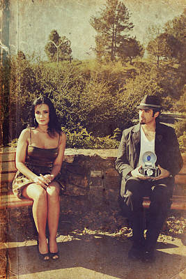 Photograph - The Shoot by Laurie Search