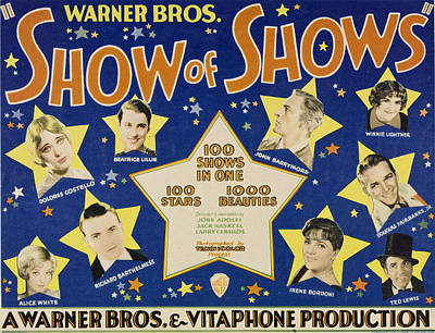 Dolores Photograph - The Show Of Shows, Clockwise by Everett