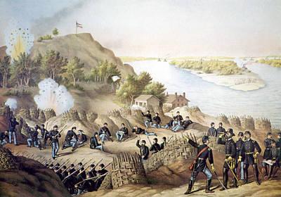 The Siege Of Vicksburg, May18-july 4 Art Print