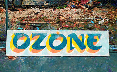 The Sign Of The Ozone Art Print by Steve Taylor