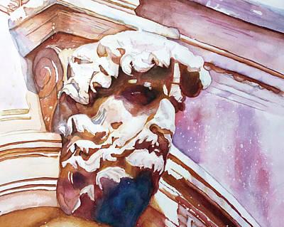 The Silent Venetian Art Print
