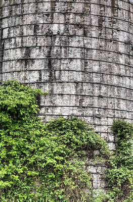 Photograph - The Silo by JC Findley