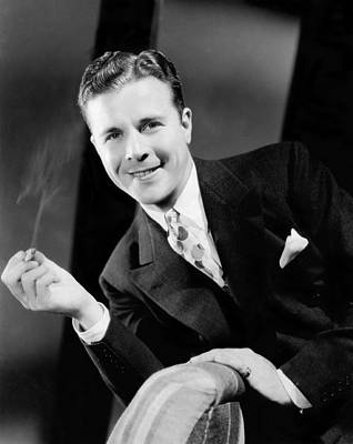 1937 Movies Photograph - The Singing Marine, Dick Powell, 1937 by Everett
