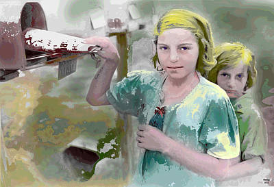 The Sisters Art Print by Charles Shoup