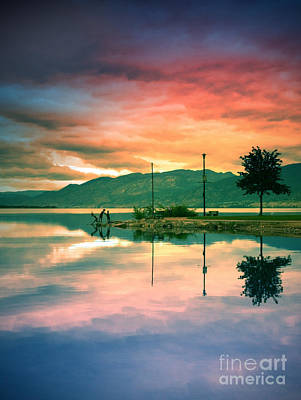 Photograph - The Small Distances Between Sky And Water by Tara Turner