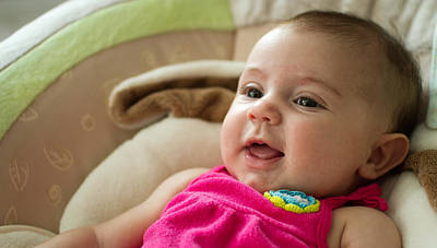 Photograph - The Smile Of An Infant by Andres Leon