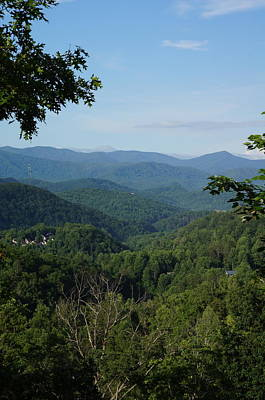 Landscape Photograph - The Smoky Mountains by Megan Cohen