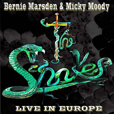 Wall Art - Painting - The Snakes Live In Europe by Penny Golledge