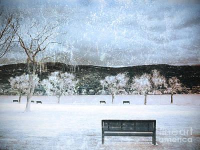 The Snow Storm Print by Tara Turner