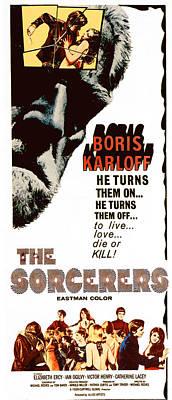 1967 Movies Photograph - The Sorcerers, Boris Karloff, 1967 by Everett