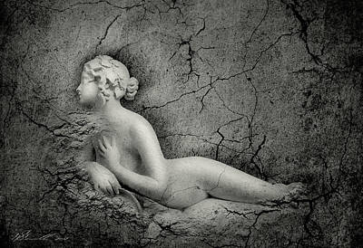 Nudity Mixed Media - The Soul Of Stature by Svetlana Sewell