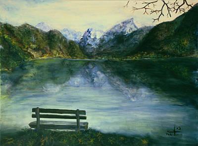 The Sound Of Silence Art Print by Itzhak Richter