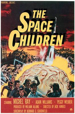 Meteorite Art Photograph - The Space Children, 1958 by Everett