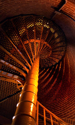 The Spiral At Barnegat Art Print by Skip Willits