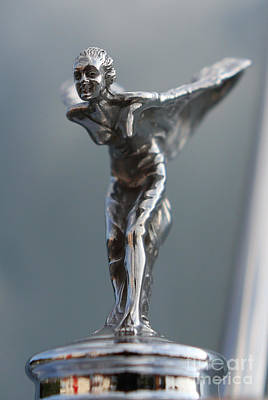 Photograph - The Spirit Of Ecstasy Hood Ornament II  -    Rolls-royce Silver Cloud by Lee Dos Santos