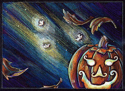 The Spirit Of Halloween Art Print