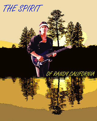 Photograph - The Spirit Of Randy California by Ben Upham