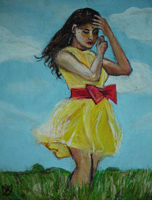 Painting - The Spring Bow Dress by Adam Kissel