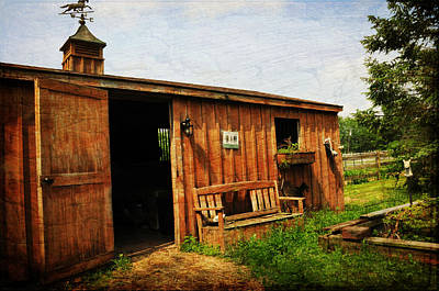 The Stable Art Print by Paul Ward