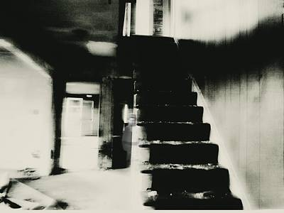 The Stairway Art Print by Trish Clark