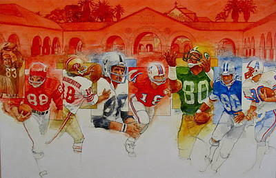 Painting - The Stanford Legacy  3 Of 3 by Cliff Spohn