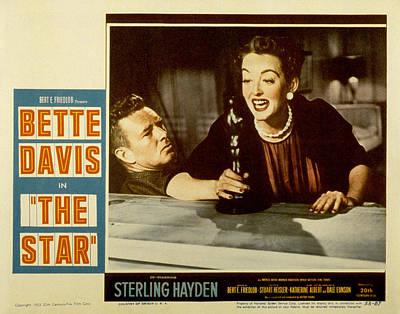 Sterling Hayden Photograph - The Star, Sterling Hayden, Bette Davis by Everett