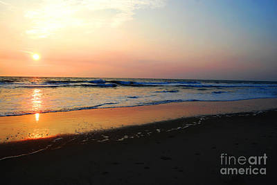 Art Print featuring the photograph The Start Of A Good Day by Linda Mesibov