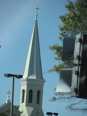 Wall Art - Photograph - The Steeple by Evelyn Haye