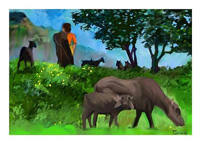 Digital Art - The Stock Holder by Parag Pendharkar
