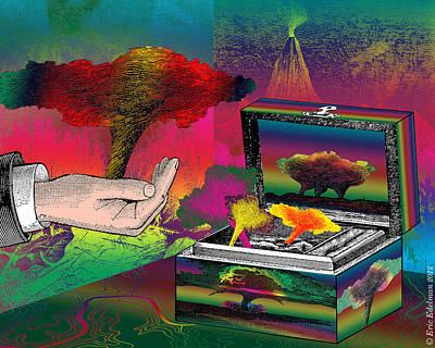 Digital Art - The Storm-keeeper by Eric Edelman