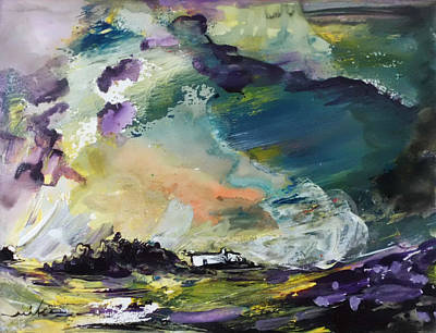 Painting - The Storm by Miki De Goodaboom