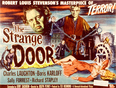 Fid Photograph - The Strange Door, Charles Laughton by Everett