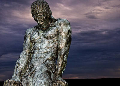 Syracuse University Photograph - The Struggle Of Elemental Man by Vicki Jauron