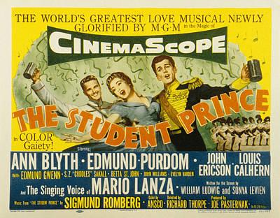The Student Prince, John Ericson, Ann Art Print by Everett