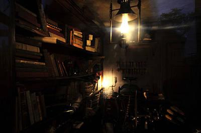 Lantern Digital Art - The Study by David Lee Thompson