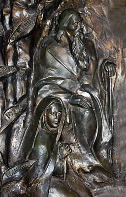 The Submission At Nativity Church Art Print by Munir Alawi