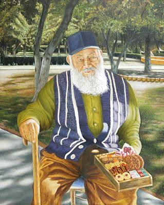 The Sugarman  El Hombre De Azucar Art Print by Fernando A Hernandez