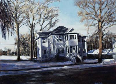 The Sullivan Place In Winter Original