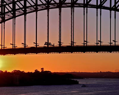 Photograph - The Sun Is Up Over Sydney by Kirsten Giving