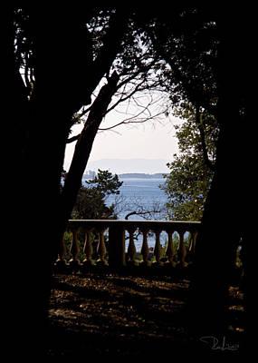 Photograph - The Sun Out On The Sea   Card by Raffaella Lunelli