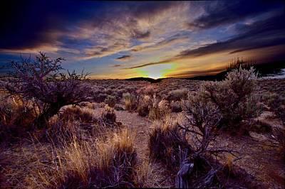 Photograph - The Sundown  by SB Sullivan