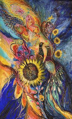 The Sunflower ... Visit Www.elenakotliarker.com To Purchase The Original Art Print by Elena Kotliarker