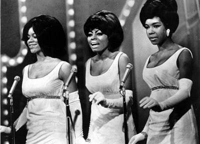 Long Gloves Photograph - The Supremes Florence Ballard, Diana by Everett