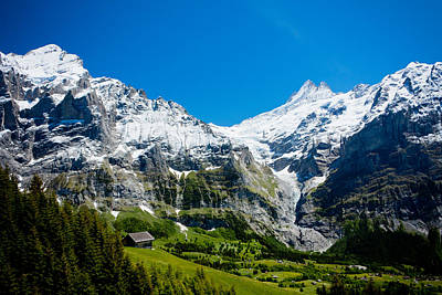 Photograph - The Swiss Alps by Anthony Doudt