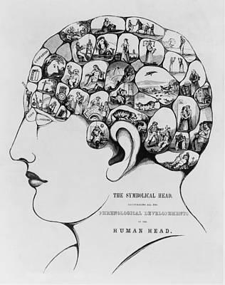 The Symbolical Head, Illustrating All Art Print