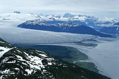 The Taku Glacier, Near Juneau Art Print by Kenneth Garrett