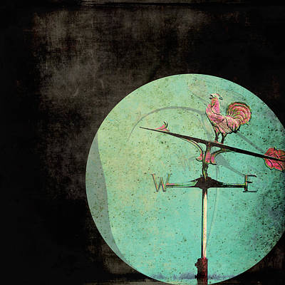 The Tale Of A Weather Vane  Art Print by Sharon Coty
