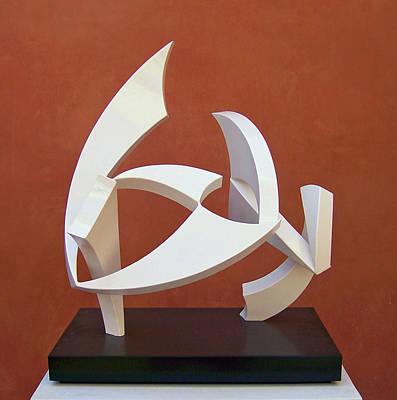 Sense Of Movement Sculpture - The Taming Of Pegasus  by John Neumann